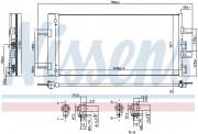 Радиатор кондиционера NISSENS 940686