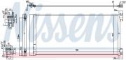 Радиатор кондиционера NISSENS 940596