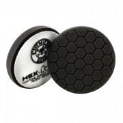 Черный пенополиуретановый полировальный круг (жесткость №6) Chemical Guys Hex-Logic Премиум