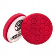 Красный пенополиуретановый полировальный круг (жесткость №7) Chemical Guys Hex-Logic Премиум