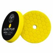 Желтый пенополиуретановый полировальный круг (жесткость №1) Chemical Guys Hex-Logic Quantum