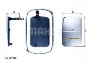 Фильтр АКПП MAHLE HX165KIT