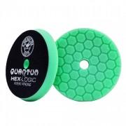 Зеленый пенополиуретановый полировальный круг (жесткость №3) Chemical Guys Hex-Logic Quantum