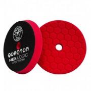 Красный пенополиуретановый полировальный круг (жесткость №7) Chemical Guys Hex-Logic Quantum