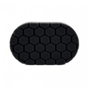 Черный аппликатор для ручной полировки (жесткость №3) Chemical Guys Hex-Logic Hand Applicator Pad
