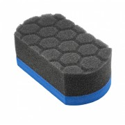 Мягкая губка-аппликатор синего цвета Chemical Guys The Easy Grip Ultra Soft Hex-Logic