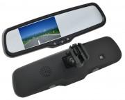 Зеркало заднего вида с монитором Swat VDR-FR-07 для Peugeot, Citroen, Dacia, Lada, Nissan, Renault