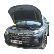 Амортизаторы капота (газовые упоры капота) Euro-Upor EU-HY-TUC-04-02 для Hyundai Tucson 4 (2021+) 2шт