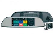 Зеркало заднего вида ParkCity DVR HD 900 с монитором, видеорегистратором, 3G, Bluetooth и камерой заднего вида (Android 5.0)
