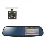 Зеркало заднего вида с монитором, видеорегистратором и камерой заднего вида Stealth DVR ST 120