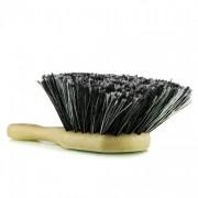Щетка с короткой ручкой и густой серой щетиной Chemical Guys Body & Wheel Flagged Tip Short Handle Brush