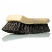 Щетка с длинной щетиной из натурального конского волоса Chemical Guys Long Bristle Horse Hair Leather Cleaning Brush