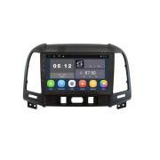 Штатная магнитола Sound Box SB-8199 2G DSP для Hyundai Santa Fe 2006-2012 (Android 10)