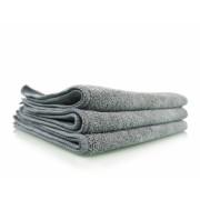 Серое микрофибровое полотенце для металлических поверхностей Chemical Guys Workhorse Gray Professional Grade Microfiber Towel