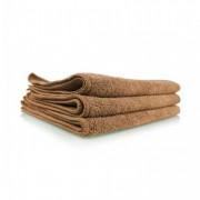 Коричневое микрофибровое полотенце Chemical Guys Workhorse Tan Professional Grade Microfiber Towel