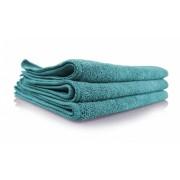 Зеленое микрофибровое полотенце для  работы с ЛКП Chemical Guys Workhorse Towel-Green for Exteriors Profi Grade Microfiber