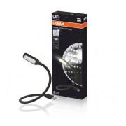 Гибкая светодиодная лампа для освещения салона автомобиля Osram ONYX COPILOT USB