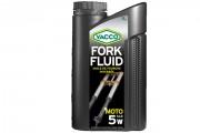 Синтетическое мотоциклетное масло для вилок и амортизаторов Yacco Fork Fluid 5W (1л)