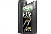 Синтетическое мотоциклетное масло для вилок и амортизаторов Yacco Fork Fluid 7,5W (1л)