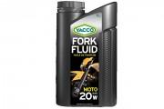 Синтетическое мотоциклетное масло для вилок и амортизаторов Yacco Fork Fluid 20W (1л)