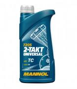 Мотоциклетное моторное масло Mannol 7205 2-Takt Universal