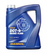 Тормозная жидкость Mannol 3002 Brake Fluid DOT-4