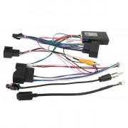 Комплект переходников Carav 16-028 для подключения мaгнитолы 7', 9', 10.1' в aвтомобилях Ford