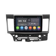Штатная магнитола Sound Box SB-9025 2G DSP для Mitsubishi Lancer X (Android 10)