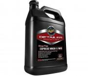 Автошампунь с воском (концентрат) Meguiar's D115 Rinse Free Express Wash & Wax (3,78л)