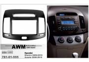 Переходная рамка AWM 781-01-555 для Hyundai Elantra (HD), Avante (HD) 2006-2010, 2 DIN
