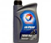 Мотоциклетное моторное масло Total Hi-Perf 4T Sport 10W-40 (1л)