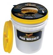 Профессиональное ведро для мойки кругов Meguiar's WPW Pad Washer