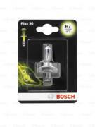Лампа галогенная Bosch Plus 90 1987301078 (H7)
