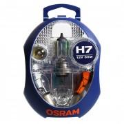 Комплект галогенных ламп Osram ALB (H7, P21W, PY21W, P21/5W, R5W, W5W)