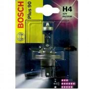 Лампа галогенная Bosch Plus 90 1987301077 (H4)