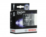 Комплект галогенных ламп Bosch Gigalight Plus 120 1987301106 (H4)