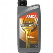 Синтетическое трансмиссионное масло Areca UTM 75w-80 GL4+