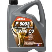 Моторное масло Areca F6003 5w-40 C3