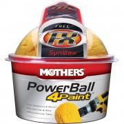 Набор для полировки кузова Mothers PowerBall 4Paint Kit MS05147 (насадка + синтетический воск FX 118мл)