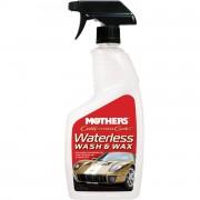 Защитный полимер и мойка без воды `2 в 1` Mothers California Gold Wash & Wax MS05644 (710мл)