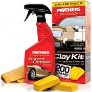 Набор для восстановления кузова Mothers California Gold Clay Kit MS07240 (очиститель 473мл +глина 200г)