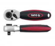 Трещотка с битодержателем Yato YT-0331 72 зубца (1/4'')