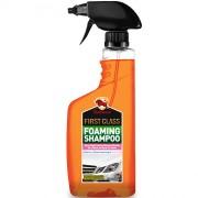 Концентрированный автошампунь для глубокой мойки в триггере Bullsone First Class Foaming Shampoo CLNS-10701-900 (550мл)