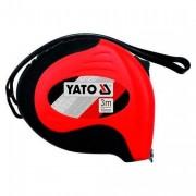 Рулетка Yato YT-7126 / YT-7128 с нейлоновым покрытием и магнитами (3м, 8м)