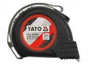 Рулетка Yato YT-7110 / YT-7111 / YT-7112 с нейлоновым покрытием и магнитами (3м, 5м, 8м)
