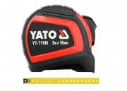 Рулетка Yato YT-71186 с нейлоновым покрытием и магнитами (3м)