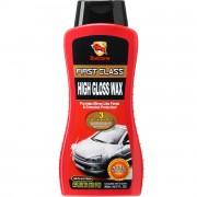 Полироль для очистки, восстановления и защиты кузова Bullsone First Class High Gloss Wax WAX-13069-900 (500мл)