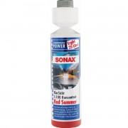 Жидкость для стеклоомывателя (концентрат) Sonax KlarSicht Red Summer 1:100 266141 (Лето)