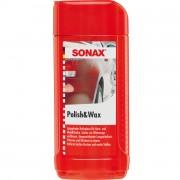 Финишный полироль с воском Sonax Polish and Wax 307200 (500мл)