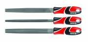 Набор напильников по металлу Yato YT-6237 (3 шт) 250мм
